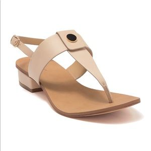 🆕 14TH & UNION Angelika Thong Toe Heeled Sandal